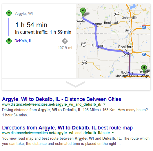 argyle to dekalb node