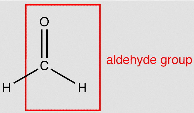 aldehyde group