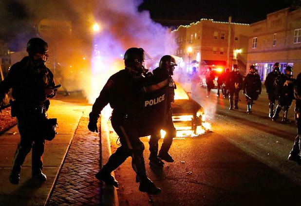 ferguson beer riots